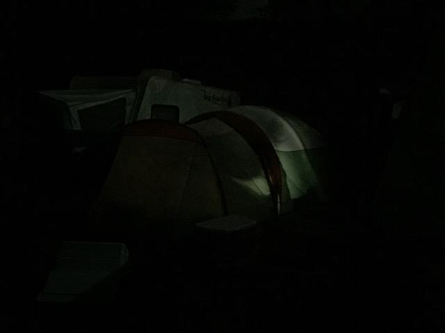 Dana Major tent tour 3