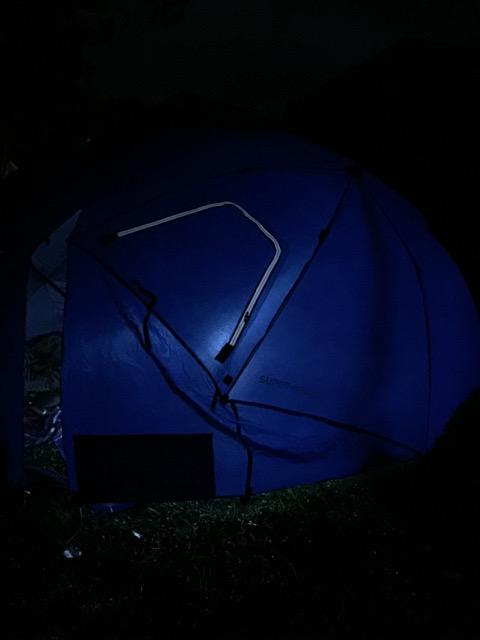 Dana Major tent tour 6