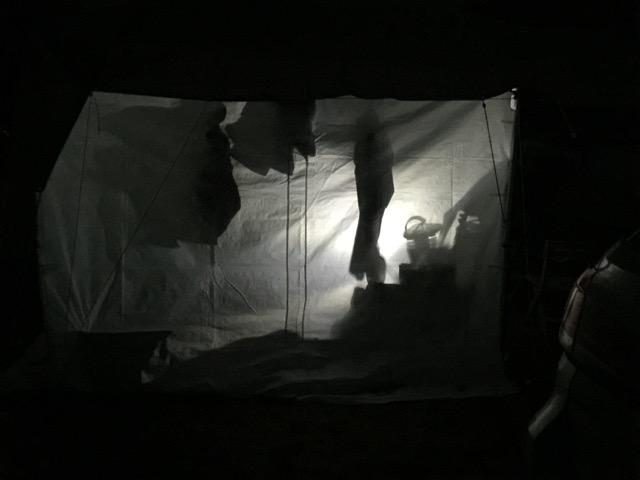 Dana Major tent tour a