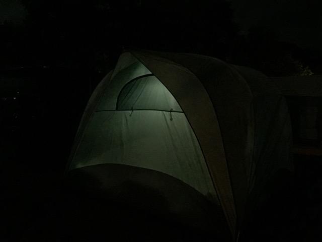 Dana Major tent tour b